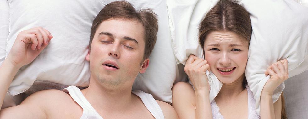خروپف در خواب